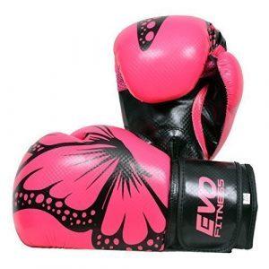 gants boxe femme evo fitness gel