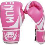 gants de boxe unisexe venum challenge rose