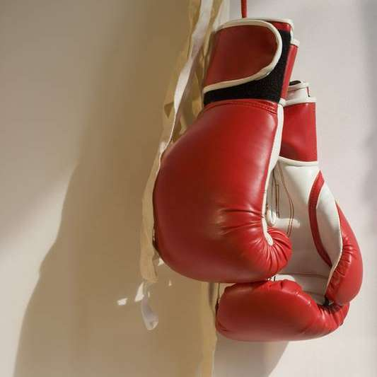 gants boxe rouge équipement