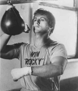 poire de vitesse Rocky boxe