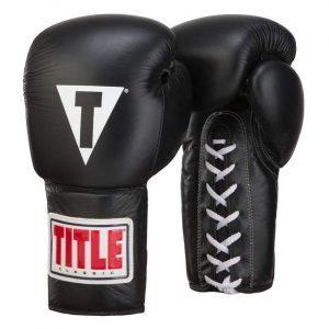 gant de boxe TITLE Classic Leather Lacet