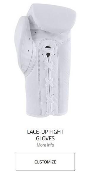 gants combat adidas personnalisable my gloves