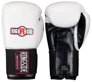 gants Ringside IMF tech boxing blanc
